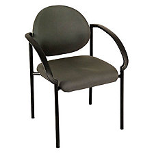 Fabric Side Guest Chair with Arms, CH02410