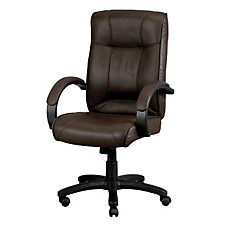 High Back Executive Conference Chair in Black Leather, CH02413