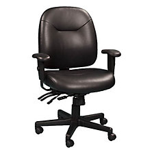 4x4 Series Leather Ergonomic Chair, CH02419
