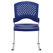 Stack Chair with Unique Ventilated Back, CH04750
