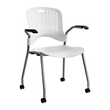 Sassy Perforated Mobile Stack Chair, CH50728