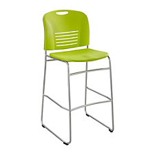 Vy Sled Base Armless Bistro Chair, CH50732