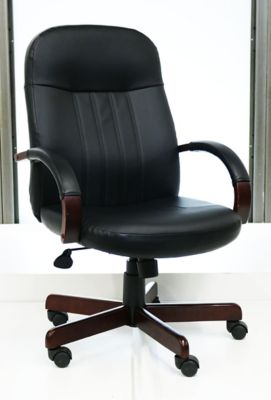 Shephard Bonded Leather Chair