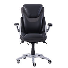 Faux Leather Ergonomic Flip Arm Executive Chair, CH50565