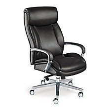 La-Z-Boy Big and Tall Executive Chair in Leather, CH52356