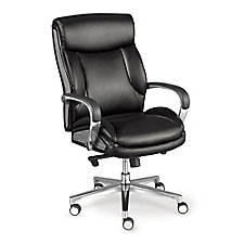 La-Z-Boy Mid Back Executive Chair in Leather, CH52357