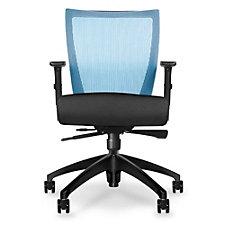 Run Four-Way Stretch Mesh Mid Back Task Chair, CH51346