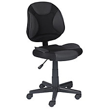 Locust Fabric Mesh Two-Tone Armless Task Chair, CH51243