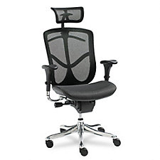 EQ Mesh High Back Ergonomic Chair with Headrest, CH04502
