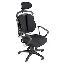 Spine Align Fabric High Back Ergonomic Chair with Headrest, CH03816