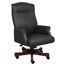 Widmore Traditional Vinyl Judges Chair, CH04539