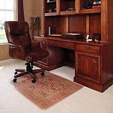 "Decorative Chairmat for Carpet- 46"" x 60"", CH04782"