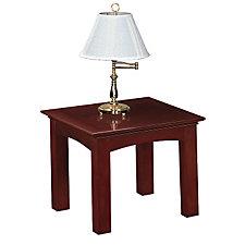 Del Mar Veneer Square End Table, CH50222