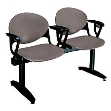 Polypropylene Two Seat Bench wth Arms, CH03090