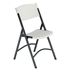 Blow-Molded Plastic Folding Chair, CH04402