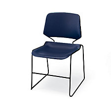 Stack Chair With Polypropylene Seat And Back, CH01165