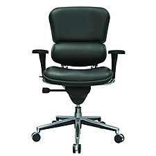 Ergohuman Leather High Back Ergonomic Chair, CH02899