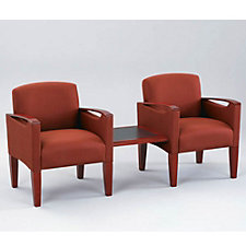 Two Chairs with Connecting Center Table, CH02716
