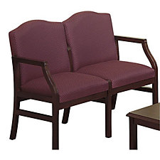 Traditional Guest Arm Chair with Two Seats, CH01369