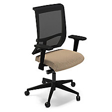 Commute Fabric Seat Mesh Back Task Chair, CH50669