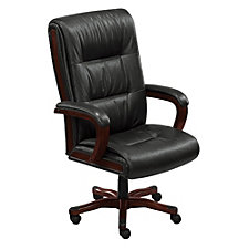 Stamford High Back Big and Tall Leather Executive Chair, CH04958