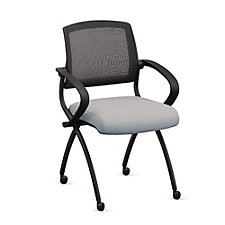 Fabric Nesting Chair with Flexible Mesh Back, CH51730