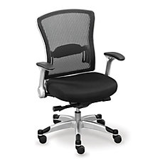 Mesh Back Fabric Seat Chair, CH50525
