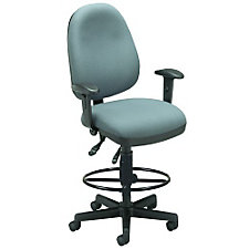 Ergonomic Drafting Chair with Arms, CH00453