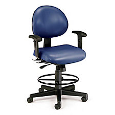 241 Series Vinyl 24 Hour Ergonomic Drafting Stool, CH02444