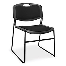 Padded Armless Stack Chair - 400 lb Weight Capacity, CH04583