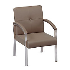 Guest Arm Chair with Chrome Legs, CH50855