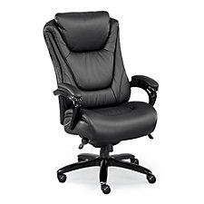 Leather and Polyurethane Big and Tall Executive Chair, CH50816