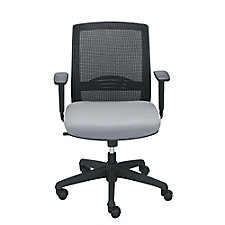 Mesh Back Chairs with Memory Foam - Set of 8, CH50768