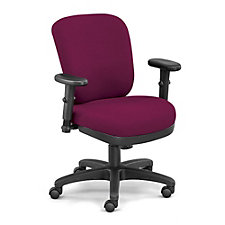 Petite Compact Low Height Ergonomic Chair in Fabric, CH50827