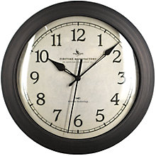 """Slim Wall Clock with Whisper Technology - 11"""", 8813469"""