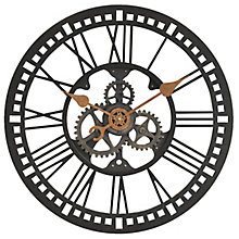 "Roman Gear Wall Clock - 24"", 8813488"