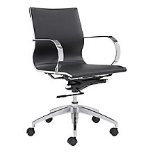 Glider Low Back Office Chair, 8807147