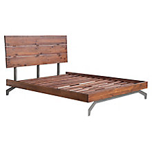 Perth Queen Bed Chestnut, 8807884