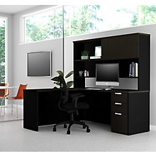 Pro Concept Plus L-Desk with Hutch - Reversible, 8827184
