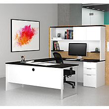 Pro Concept Plus Reversible U-Desk with Hutch, 8827187