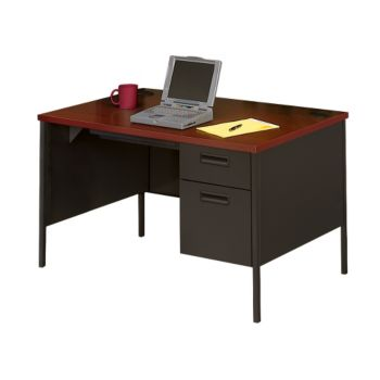 Single Pedestal Desk 48 X 30 By Hon Officefurniture