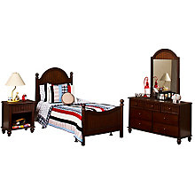 Bed - Full, Rails, Nightstand,, 8819036