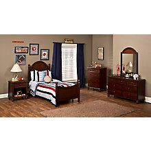 Bed - Full, Rails, Nightstand,, 8819037