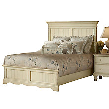 Panel Bed Set - Queen - w/Rail, 8819123