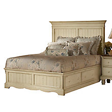 Panel Bed Set - Queen - w/Rail, 8819124