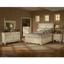 Panel Storage Bed - Queen, Rai, 8819127