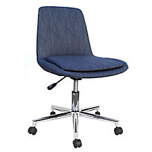 Spin Armless Fabric Swivel Chair, 8807790