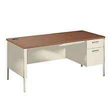 Right Pedestal Desk, UNE-P3265R
