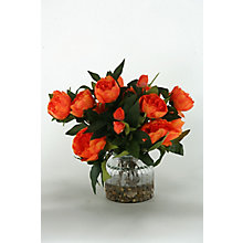 """15""""H- Peonies In Glass, 8822775"""