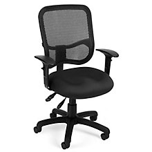 Mesh Task Chair w/Arms, 8811634